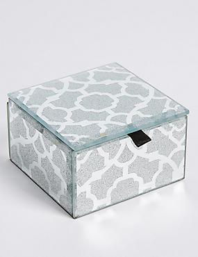 Glitter Small Jewellery Box, , catlanding