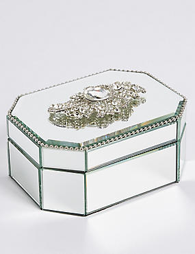 Vintage Brooch Jewellery Box