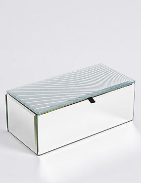 Glitter Spray Medium Jewellery Box