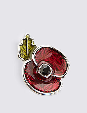 The Poppy Collection® Enamel Collar Pin