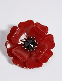 The Poppy Collection® Poppy Resin Brooch