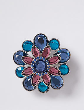 Sparkle Flower Brooch