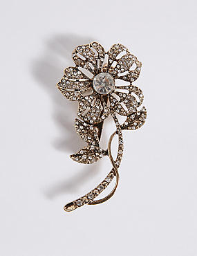 Sparkle Bud Brooch