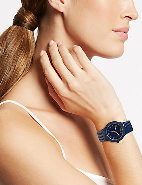 Round Face Expandable Watch, , catlanding