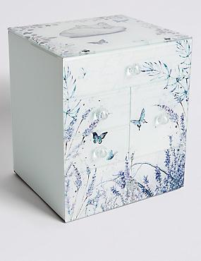 Butterfly Garden Multi Jewellery Box, , catlanding
