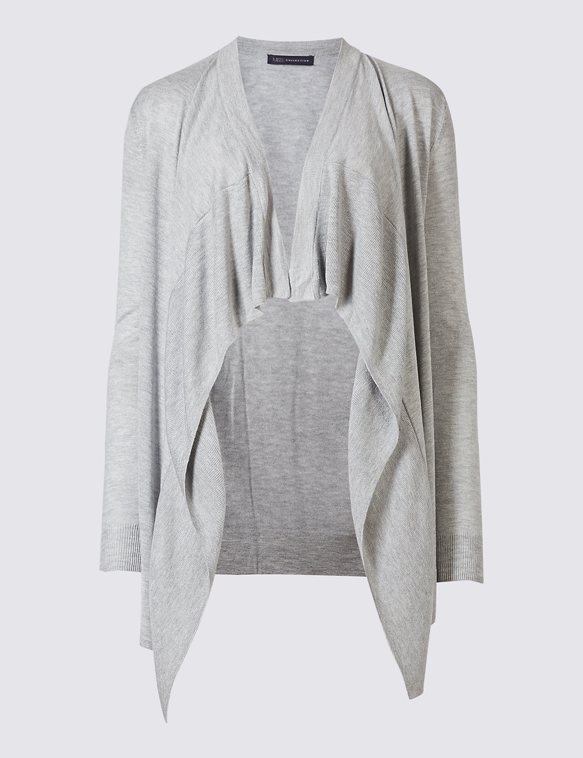 Longline Waterfall Cardigan | M&S Collection | M&S
