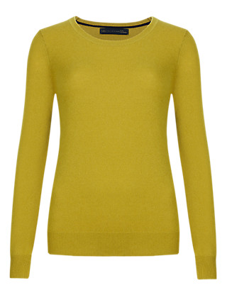 Pure Cashmere Round Neck Jumper Clothing