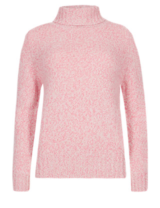 Pure Cashmere Roll Neck Jumper Clothing