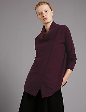 Oversized Pure Cashmere Jumper