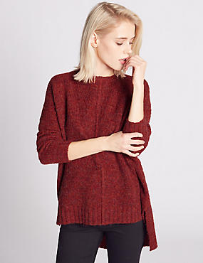 Mottled Seam Jumper