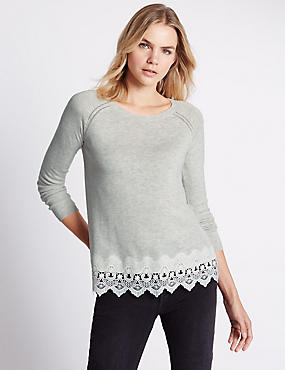 Tailored Fit Crochet Jumpers