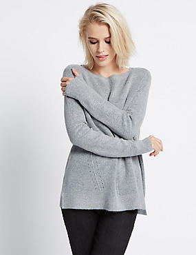 Eyelet Shoulder Jumper