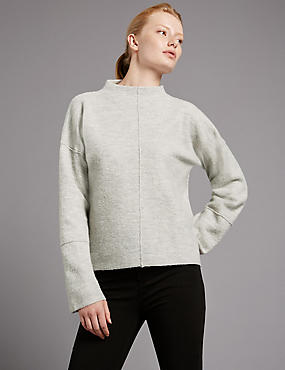 Pure Wool Turtle Neck Jumper