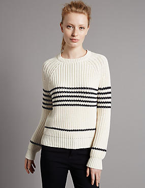 Striped Chunky Jumper