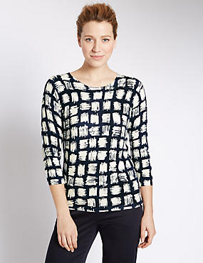 Grid Checked Jumper
