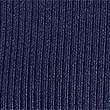 Ribbed Polo Neck Jumper, MEDIUM NAVY, swatch