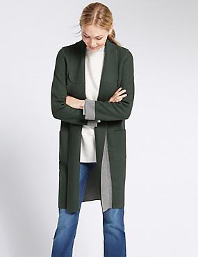 Loose Fit Long Sleeve Cardigan
