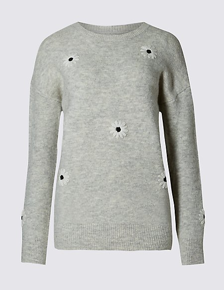 Daisy Crew Neck Jumper