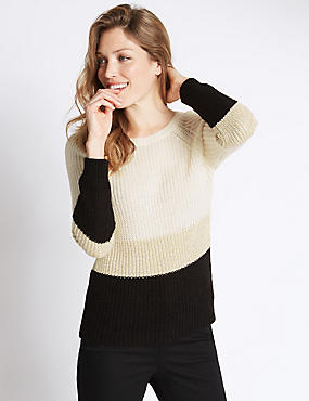 Marnie Lurex Long Sleeve Jumper