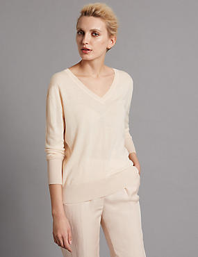 Pure Cashmere Loose Fit Jumper