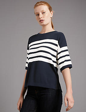 Boxy Striped Jumpers