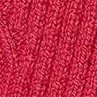 Cable Knit V-Neck Longline Cardigan, CERISE, swatch