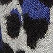 Animal Print Longline Cardigan , GREY MIX, swatch