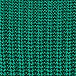 Pure Cotton Cable Knit Slash Neck Jumper, EMERALD, swatch