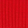 Pure Cotton Cable Knit Slash Neck Jumper, CHILLI, swatch