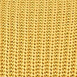 Pure Cotton Cable Knit Slash Neck Jumper, OCHRE, swatch