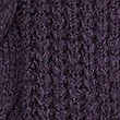 Textured Open Front Cardigan, DEEP PURPLE, swatch