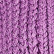 Cable Knit Open Front Cardigan, AMETHYST, swatch