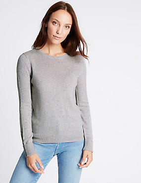 Lambswool Rich Round Neck Jumper