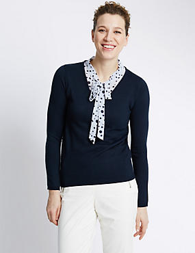 Bow Front Jumper
