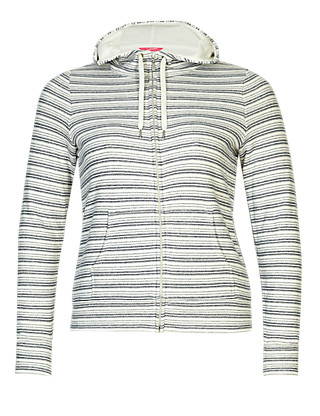 PLUS Cotton Rich Active Striped Hooded Top Clothing