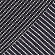 Cotton Rich Striped ¾ Sleeve T-Shirt , NAVY MIX, swatch