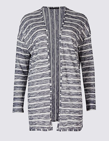 Striped Waterfall Cardigan | M&S Collection | M&S