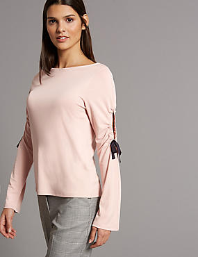 Modal Rich Slinky Long Sleeve T-Shirt