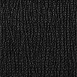 Textured Round Neck Short Sleeve Top , BLACK, swatch