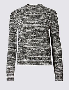Spacedye Funnel Neck Sweatshirt