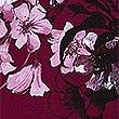 Floral Print Long Sleeve Maxi Dress , PLUM MIX, swatch