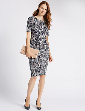 Spotted Bodycon Dress