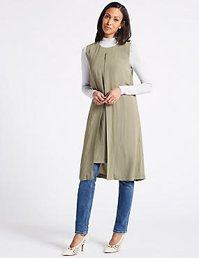 Tunic Midi Dress, SAGE, catlanding