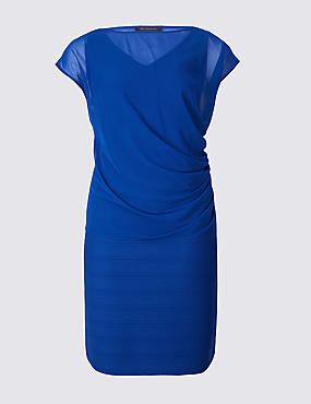 CURVE Double Layer Bodycon Midi Dress