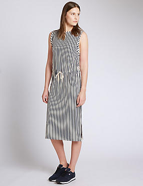 Cotton Rich Striped Dress
