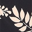 Floral Print Short Sleeve Drape Dress, BLACK MIX, swatch