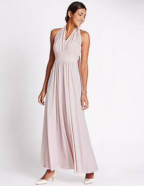 Multiway Strap Maxi Dress