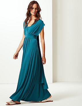 Multiway Strap Maxi Dress, , catlanding