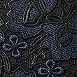 PETITE Lace Cap Sleeve Bodycon Midi Dress , NAVY, swatch