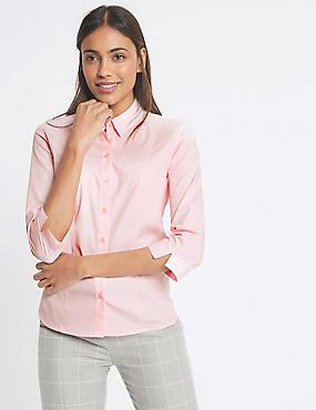 Pink Shirts & Blouses   Blush, Hot & Pale Womens Shirts   M&S